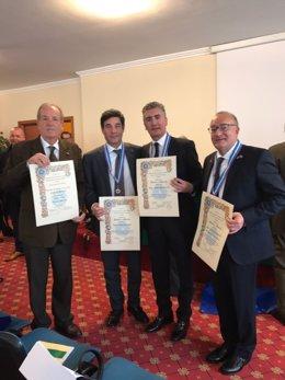 Premios de la Unión Nacional de Caballeros de Italia (UNCI)
