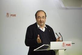 Iceta reclama votar en las primarias del PSOE y anuncia la incorporación de un representante del PSC a la Gestora