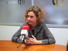 """Batet asegura que el PSC tendrá una actitud """"constructiva"""" ante las primarias del PSOE"""