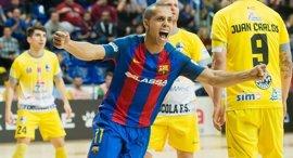 El Barça Lassa mantiene el liderato tras golear al Peñíscola RehabMedic