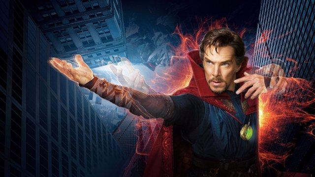 Benedict Cumberbatch como Doctor Strange (Doctor Extraño)