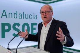"""PSOE-A expresa su respeto a Patxi López, aunque no le ha escuchado """"propuestas nuevas"""""""