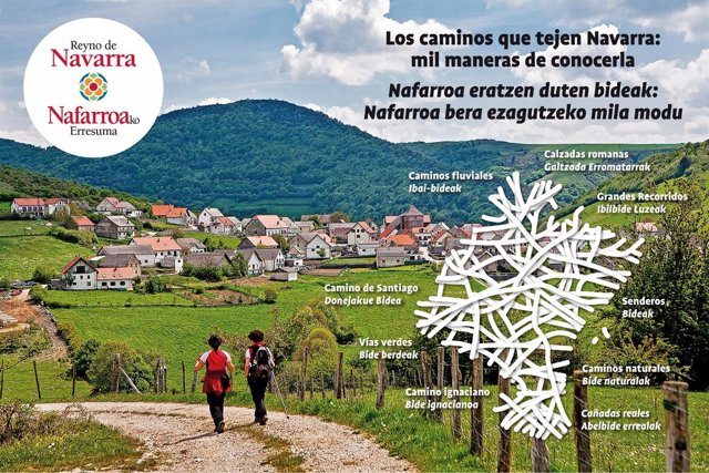 Imagen de Navarra para FITUR 2017.
