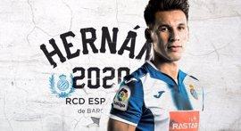 Hernán Pérez renueva con el Espanyol hasta 2020