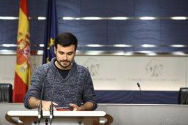 IU insta a Cospedal a dejar claro que Trillo no ocupará responsabilidad pública