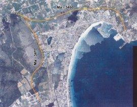 El asfaltado de las carreteras de Puerto de Alcúdia y del Murterar comienza este martes