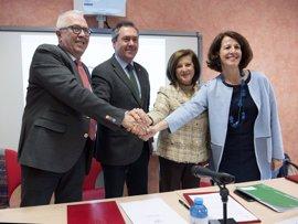 Junta y Ayuntamiento de Sevilla unifican en un centro acciones de empleo en Polígono Sur