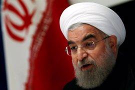 Rohani no cree que Trump pueda hacer mucho para cambiar el acuerdo nuclear con Irán