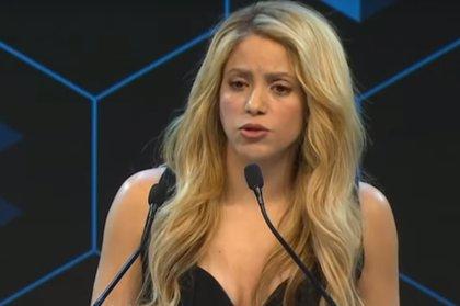 Shakira, premiada en el Foro Económico Mundial de Davos por su labor humanitaria