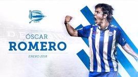El paraguayo Óscar Romero jugará cedido en el Alavés hasta 2018
