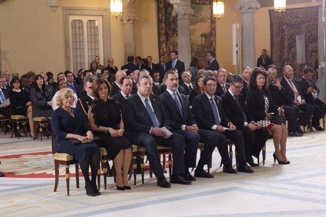 """El Rey llama a un turismo en """"beneficio de la humanidad"""" en el Año Internacional del Turismo Sostenible"""