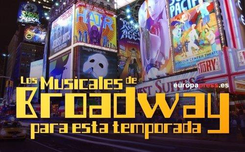 Los musicales de Broadway para esta temporada