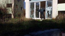 Detenido por robar material de obra de chalés en Gondomar