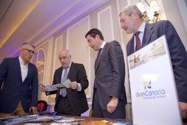El Cabildo de Gran Canaria se reúne con Norwegian, Ryanair, Iberia y Travelplan en Fitur