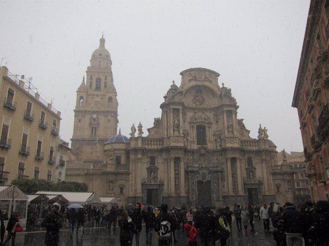 Nieve en Murcia, nevada, frío