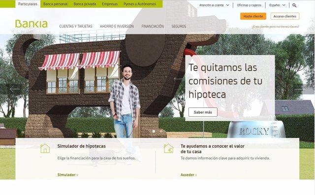 dcc4bfa8268 Bankia lanza una herramienta para calcular el precio de mercado de  cualquier vivienda