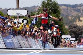 Porte domina la ascensión a Paracombe y se pone líder del Tour Down Under
