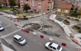 La nueva rotonda en el cruce de General Dávila-Bajada de Polio se asfaltará el jueves y viernes