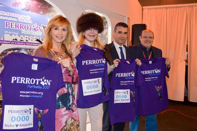 Perroton fitur marbella primera edición Andalucía Bernal 2017 Thyssen