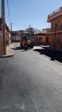 Actuaciones en Guillena (Sevilla) con cargo al Plan Supera de la Diputación