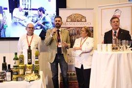 Turismo.- Fitur.- Diputación promociona la gastronomía como uno de los pilares fundamentales de su oferta