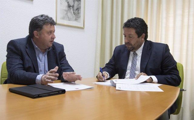 JAVIER MOLINER Y LUIS RUBIO