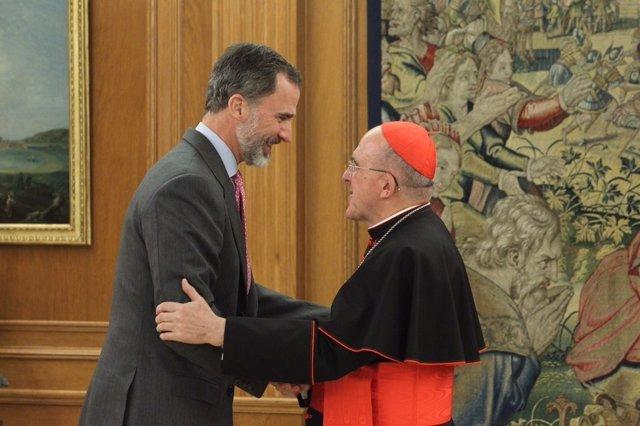 El Rey recibe a Carlos Osoro