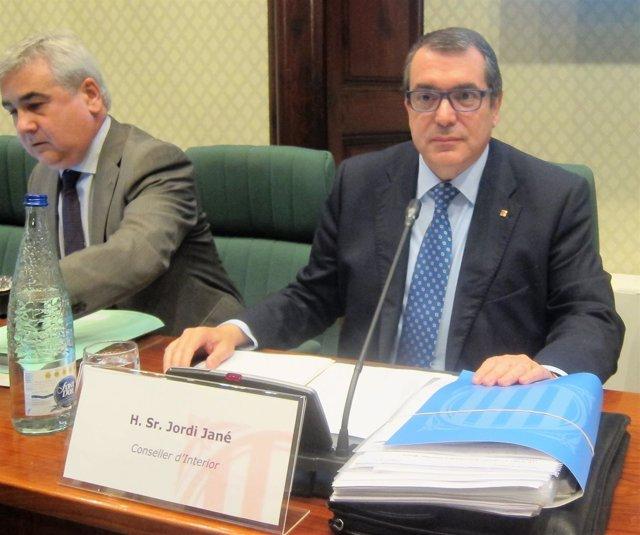 El conseller de Interior, Jordi Jané, comparece en comisión