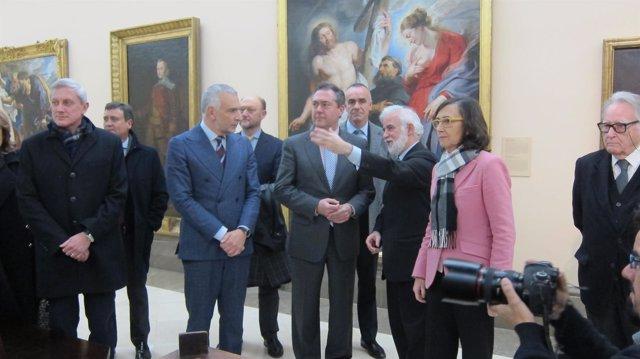 Presentación en la Academia de Bellas Artes en Madrid del Año Murillo