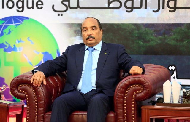 El presidente de Mauritania, Mohamed Ould Abdel Aziz