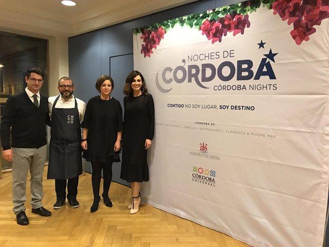Presentación en Madrid de 'Noches de Córdoba'