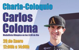 El medallista Carlos Coloma ofrecerá una charla-coloquio en la Universidad de Almería