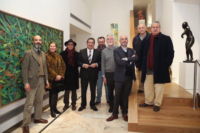 Fundación Cajasol inaugura una exposición de esculturas en Sevilla