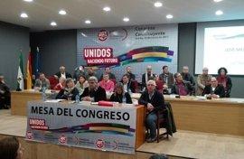 Manuel Jiménez, elegido nuevo secretario general de la nueva federación UGT FICA Andalucía