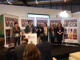 """Literatura y festivales en la """"ciudad de la música"""" centran las propuestas de Granada"""
