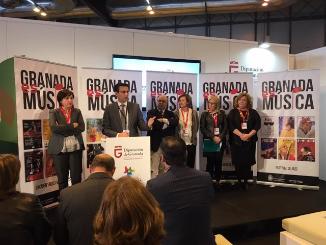 Presentación cultural de Granada en Fitur