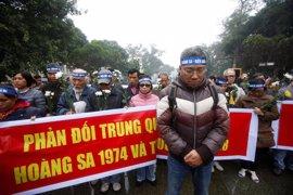La Policía de Vietnam frena una protesta contra China en Hanoi