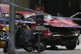 El conductor del atropello de Melbourne, herido tras ser tiroteado antes de la detención