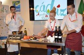 La gastronomía, protagonista de Cádiz en Fitur con la Escuela de Hostelería de Diputación