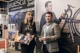 Huesca exhibe su variada oferta turística en Fitur