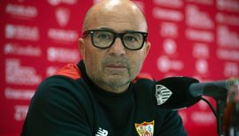 """Sampaoli: """"Quiero disfrutar el momento y no me ilusiono con nada que no sea el Sevilla"""""""
