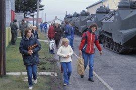 La CIA tenía un plan para enviar a los habitantes de las Malvinas a Escocia