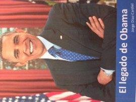 Díaz Cardiel publica 'El legado de Obama', un repaso a las políticas del último presidente de Estados Unidos
