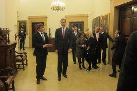 Puigdemont recibe el pésame del Rey por el asesinato de dos agentes rurales en Lleida