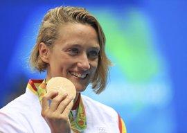 Mireia Belmonte logra dos bronces en la Flanders Cup de Amberes