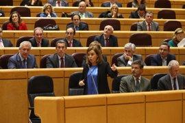 Santamaría expondrá el martes en el Senado los acuerdos de la Conferencia de Presidentes