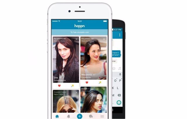 Aplicación para ligar Happn