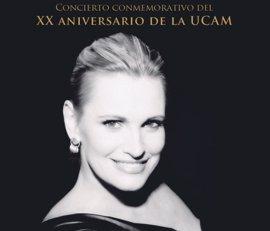 El Auditorio Regional recibe el martes a la soprano Ainhoa Arteta junto a la Orquesta Sinfónica de la UCAM