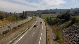 Tres heridos leves en los 26 accidentes registrados este fin de semana en Asturias