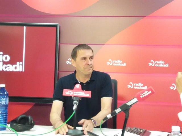 Arnaldo Otegi en Radio Euskadi